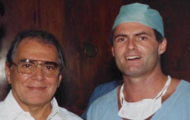 Photo Docteur Thierry Lemaire avec le professeur Ivo Pitanguy
